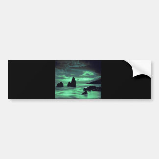 Beach, Surf and Stone Bumper Stickers