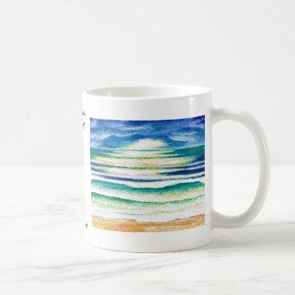 Beach Surf - CricketDiane Ocean Waves Art Products Basic White Mug