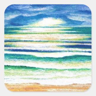 Beach Surf - CricketDiane Ocean Waves Art Products Sticker
