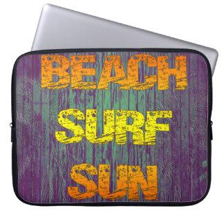Beach Surf Sun Computer Sleeves