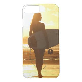 Beach surfing iPhone 8/7 case