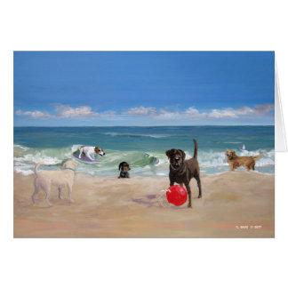 Beach Tails Greeting Card