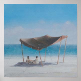 Beach Tent 2012 2 Poster