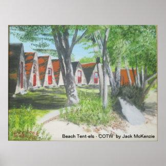 Beach Tent-els - COTW Poster