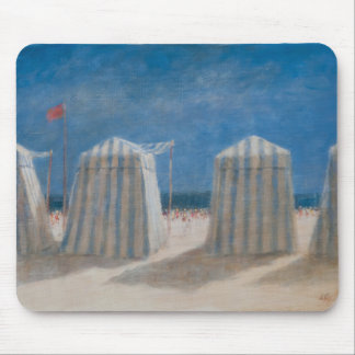 Beach Tents Brittany 2012 Mouse Mat