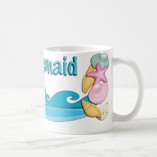 Beach theme Bridesmaid gift coffee mug cup