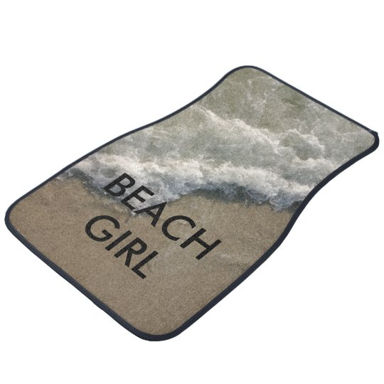 Beach Theme Car Floor Mats