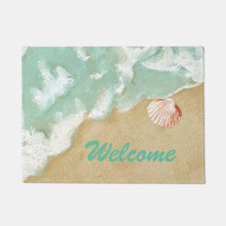 Beach Theme Door Mat