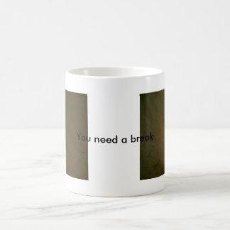 Beach theme mugs