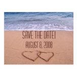 Beach theme save the date