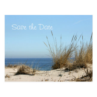 Beach Theme Save the Date Post Card