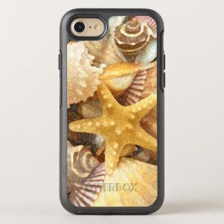 Beach Theme Seashells Design OtterBox Symmetry iPhone 8/7 Case