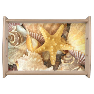 Beach Theme Serving Tray