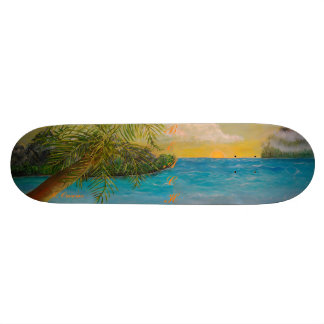Beach Theme Skateboard