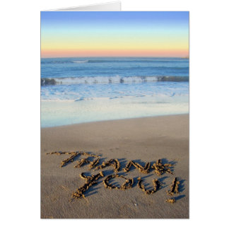 Beach Theme Thank You Card