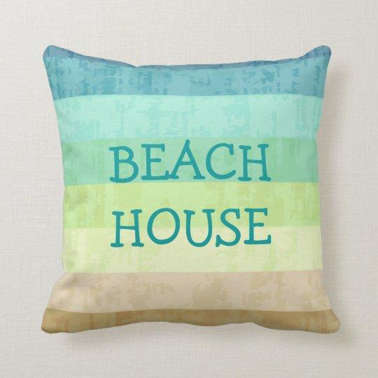 Beach Theme Throw Pillows