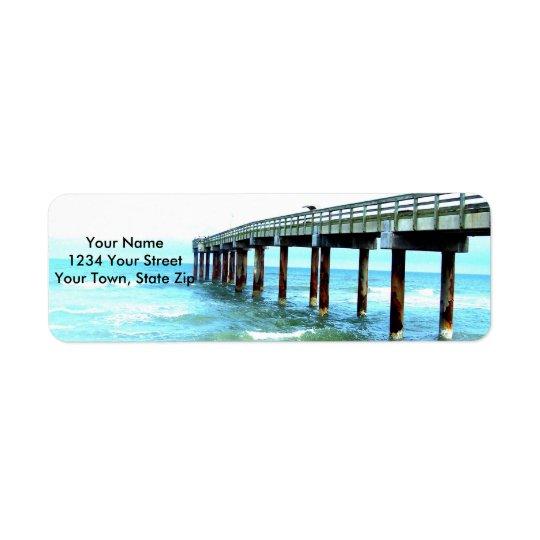 Beach Themed Return Address Labels