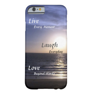 Beach Thoughts Barely There iPhone 6 Case