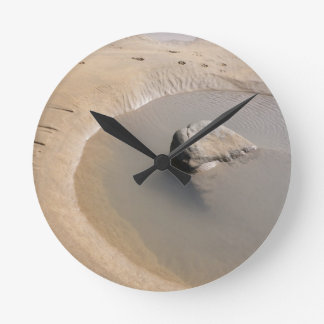 BEACH TIDAL POOL Wall Clock