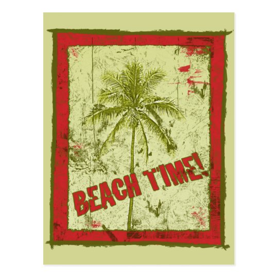 Beach Time! Party Invitations
