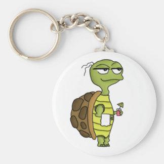 Beach Tortoise Keychain