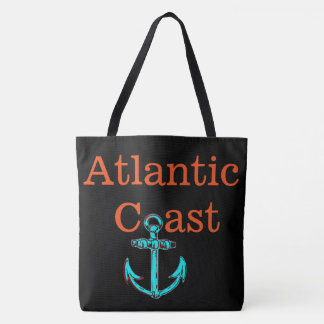 beach tote bag anchor Atlantic Coast