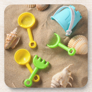 Beach Toys Beverage Coaster