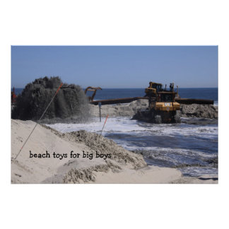 Beach Toys for Big Boys Poster