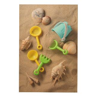 Beach Toys Wood Wall Decor