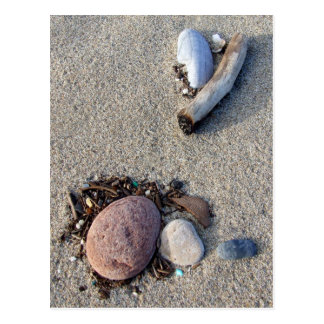 Beach Treasures Postcard