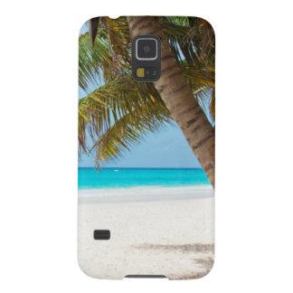 Beach tropical palm tree ocean paradise photo case for galaxy s5