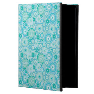 Beach Turquoise Waters Organic Circles iPad Air Cover