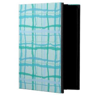 Beach Turquoise Waters Organic Plaid iPad Air Covers