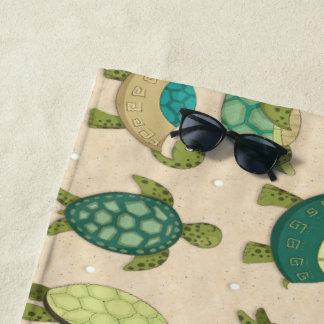 Beach Turtles Beach Towel
