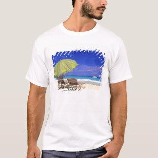 Beach Umbrella, Abaco, Bahamas T-Shirt