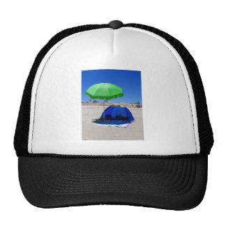 beach-umbrella cap