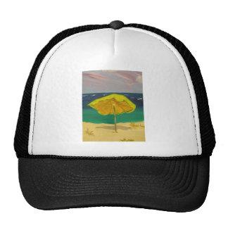 beach umbrella mesh hat