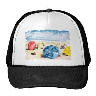 Beach Umbrellas 2012 Water Color Edged.jpg Cap