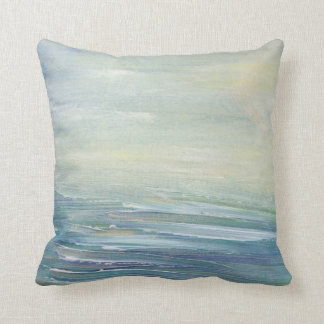 Beach upscale impressionistic Sun Rays pillow