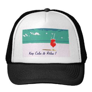 Beach Vacation Hat