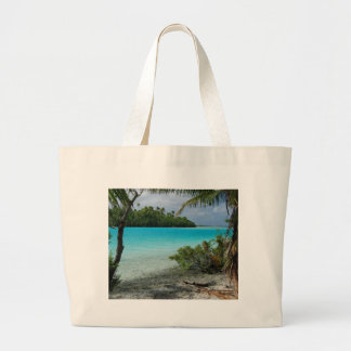 Beach Vacation Paradise Canvas Bags