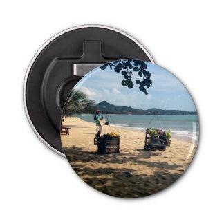 Beach Vendings ... Lamai Beach, Koh Samui Island Bottle Opener