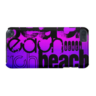 Beach; Vibrant Violet Blue and Magenta iPod Touch (5th Generation) Cases