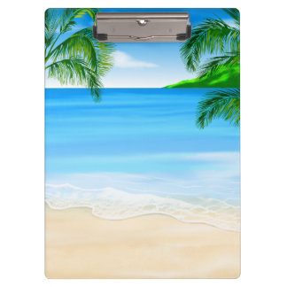 Beach View Clipboard