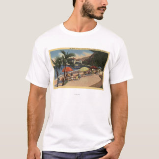 Beach View in Front of Hotel St. Catherine T-Shirt
