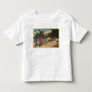 Beach View in Front of Hotel St. Catherine Toddler T-Shirt