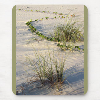 Beach vine and grass mouse pad