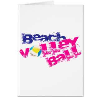 Beach Volleyball Card