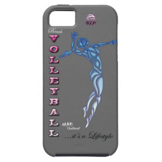 Beach Volleyball Grey Phonecase iPhone 5 Covers