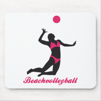 beach volleyball mouse mat